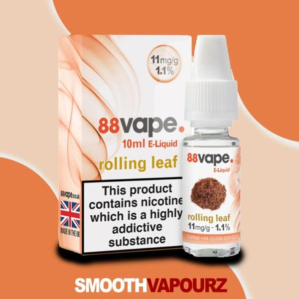 rolling leaf tobacco 88 vape - smooth vapourz