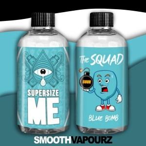 the squad supersize me smooth vapourz blue bomb