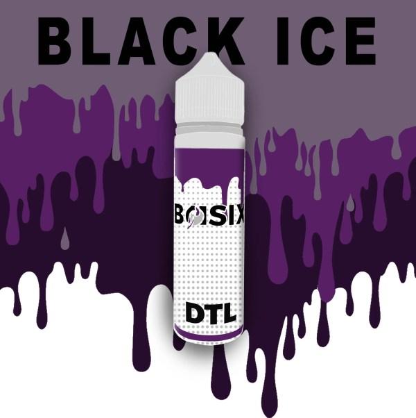QCIG Basix DTL - Black Ice 50ml E-liquid - Smooth Vapourz Vape Juice