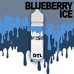 QCIG Basix DTL - Blueberry Ice 50ml E-liquid - Smooth Vapourz Vape Juice