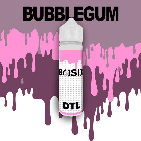 QCIG Basix DTL - Bubblegum 50ml E-liquid - Smooth Vapourz Vape Juice