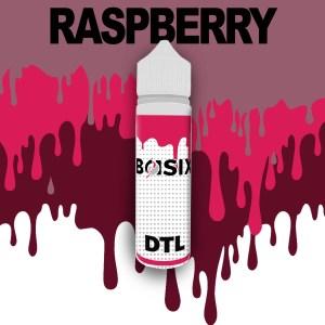 QCIG Basix DTL - Raspberry 50ml E-liquid - Smooth Vapourz Vape Juice