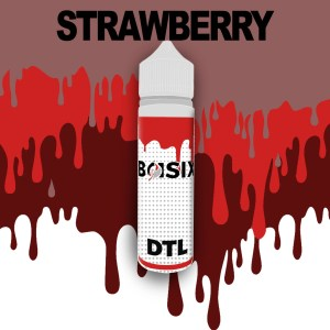 QCIG Basix DTL - Strawberry 50ml E-liquid - Smooth Vapourz Vape Juice