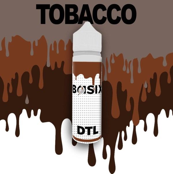 QCIG Basix DTL - Tobacco 50ml E-liquid - Smooth Vapourz Vape Juice