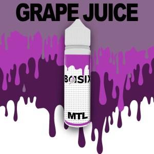 QCIG Basix MTL - Grape Juice 50ml E-liquid - Smooth Vapourz Vape Juice
