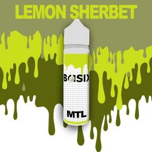 QCIG Basix MTL - Lemon Sherbet 50ml E-liquid - Smooth Vapourz Vape Juice