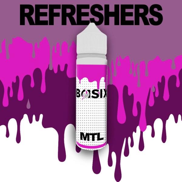 QCIG Basix MTL - Refreshers 50ml E-liquid - Smooth Vapourz Vape Juice