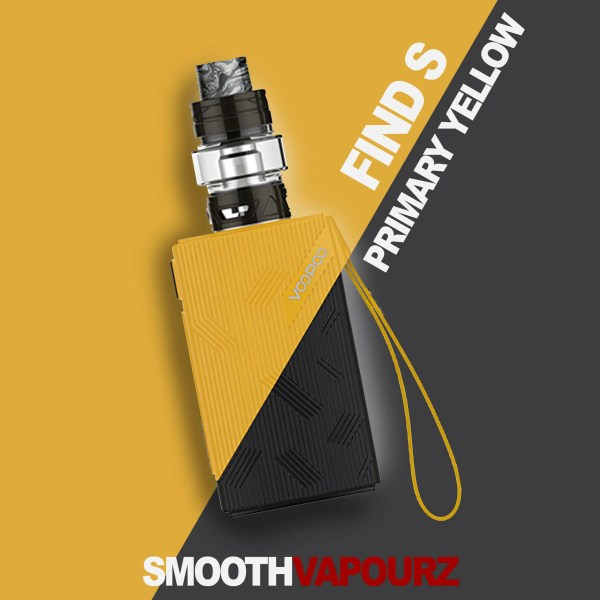 Voopoo Find S - Primary Yellow - Vape Kit - Smooth Vapourz