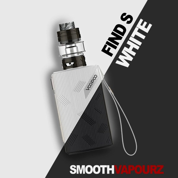 Voopoo Find S - White - Vape Kit - Smooth Vapourz