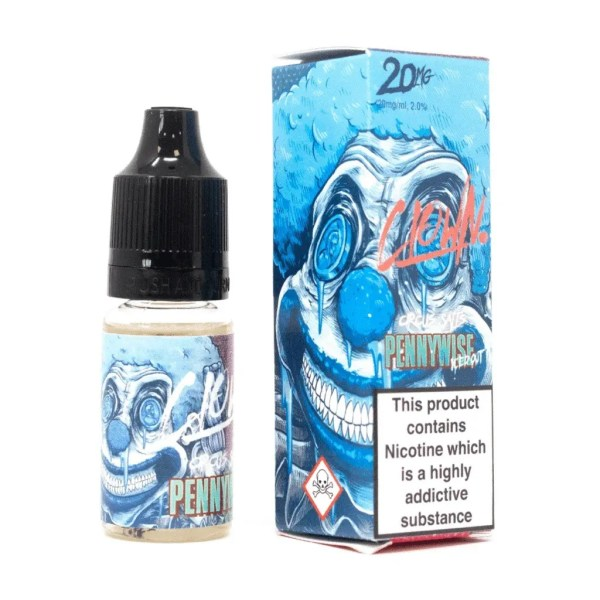 Clown Salts - Pennywise Iced Out 10ml Nic Salt - Smooth Vapourz