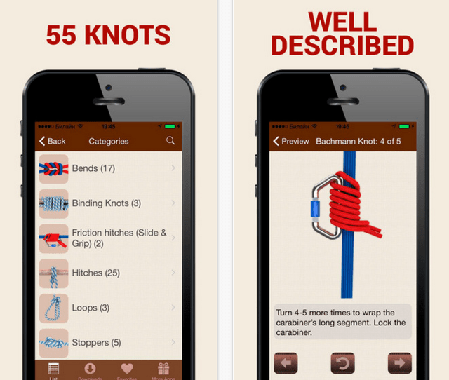 Apps For Getting Kids Outdoors How To Tie Knots 3d