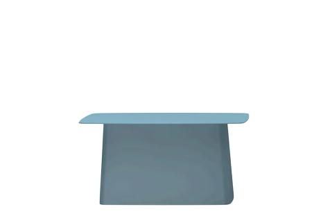 vitra metal side table outdoor gross h 35 5 x b 70 x t 31 5 cm eisgrau