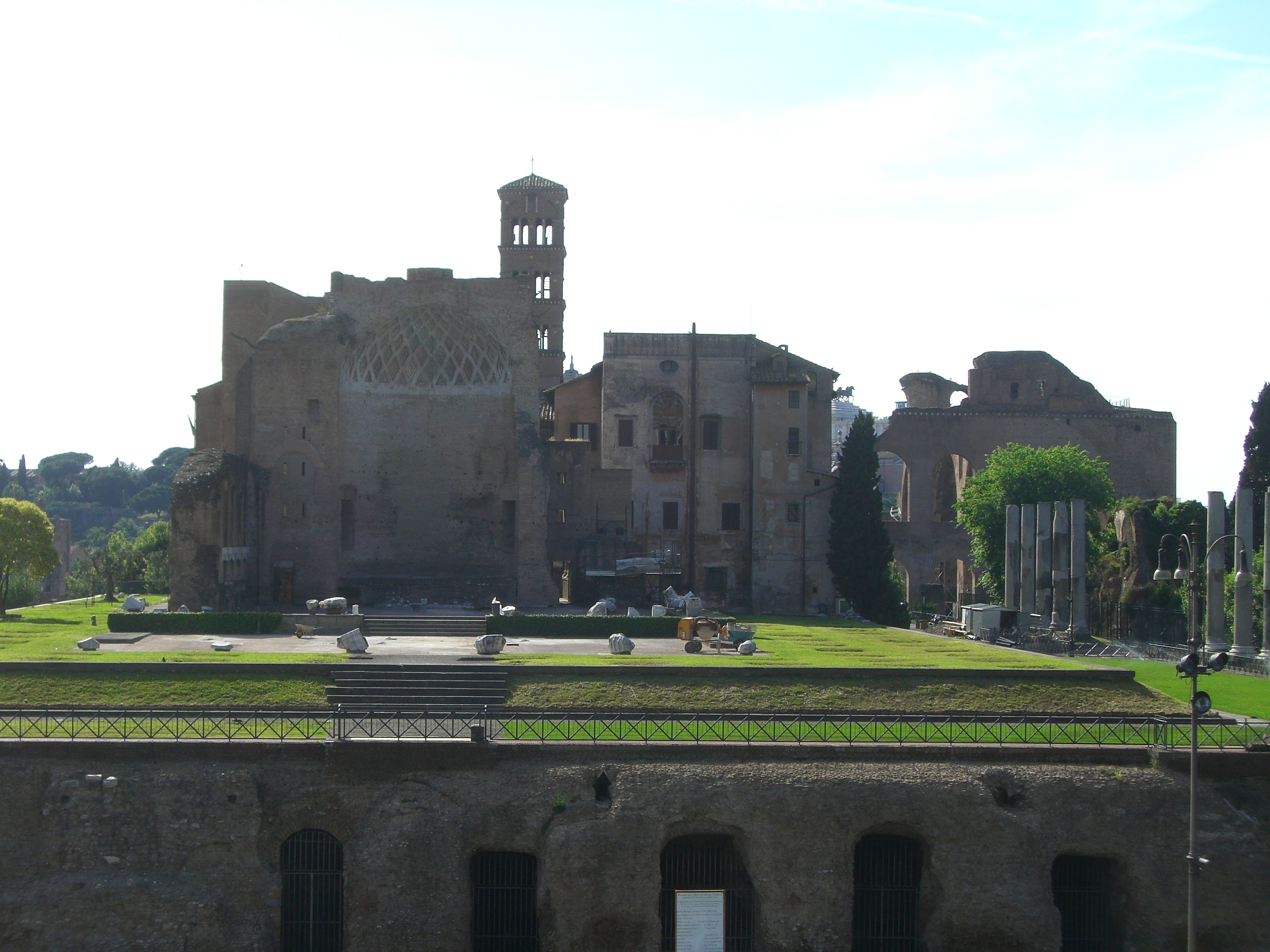 Romans Ruins At Palantine Hill