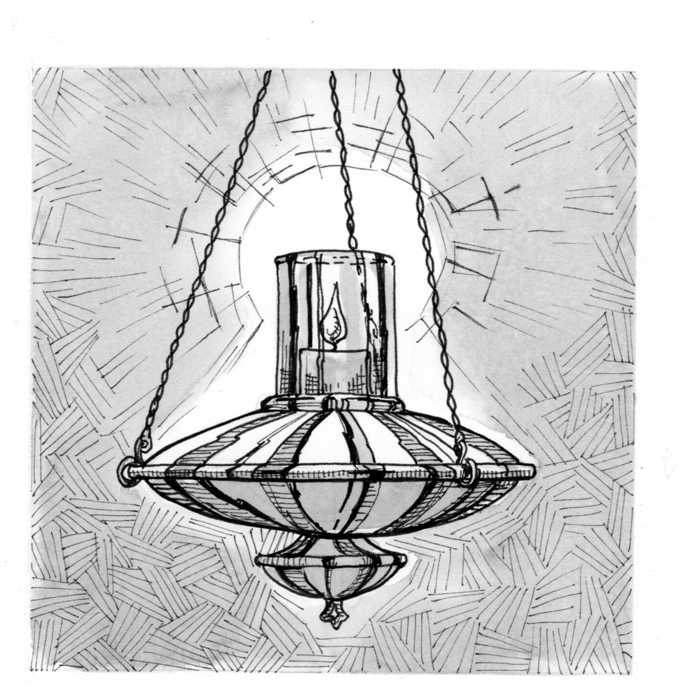 Signs And Symbols Sanctuary Lamp