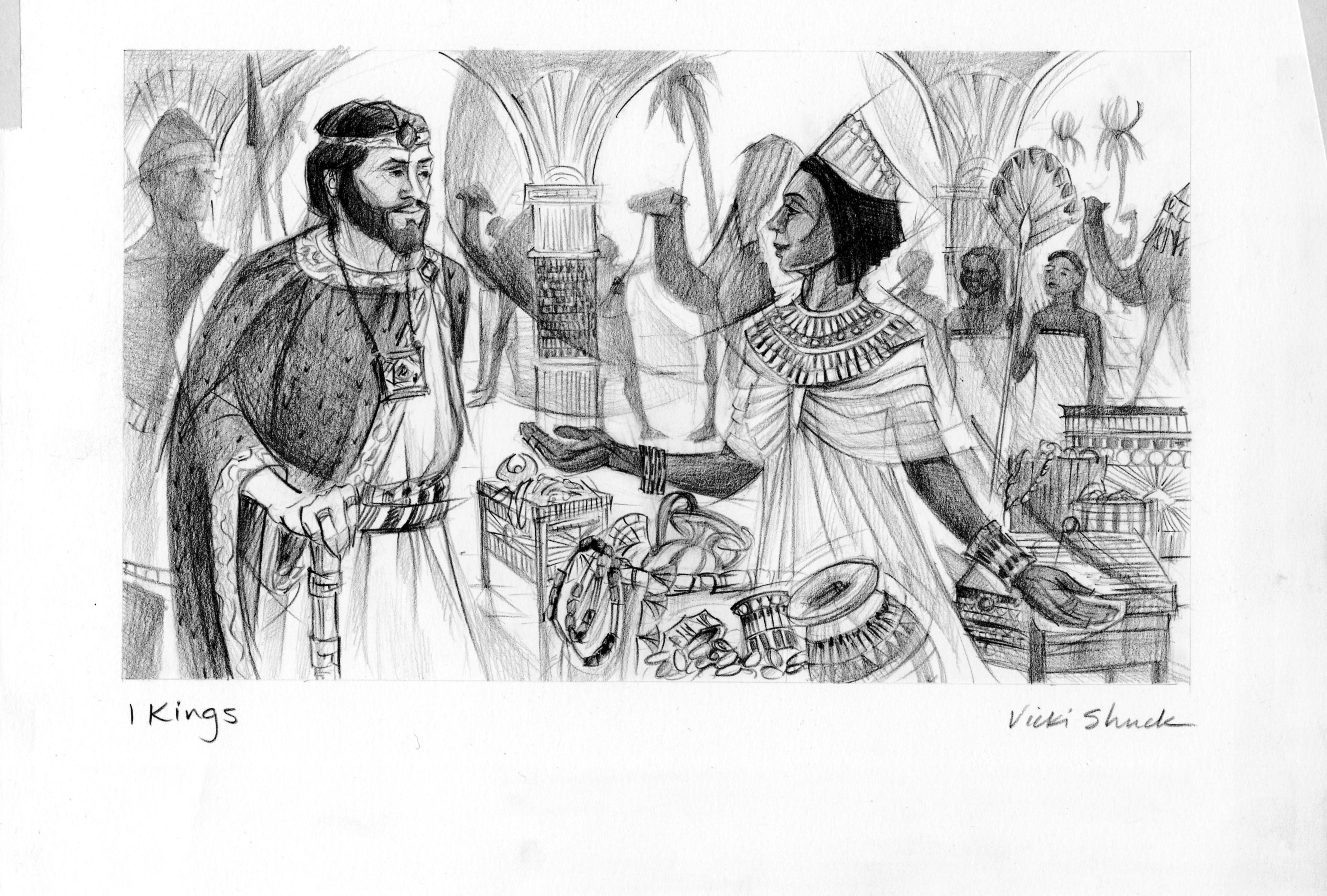 1 Kings 10 Illustration