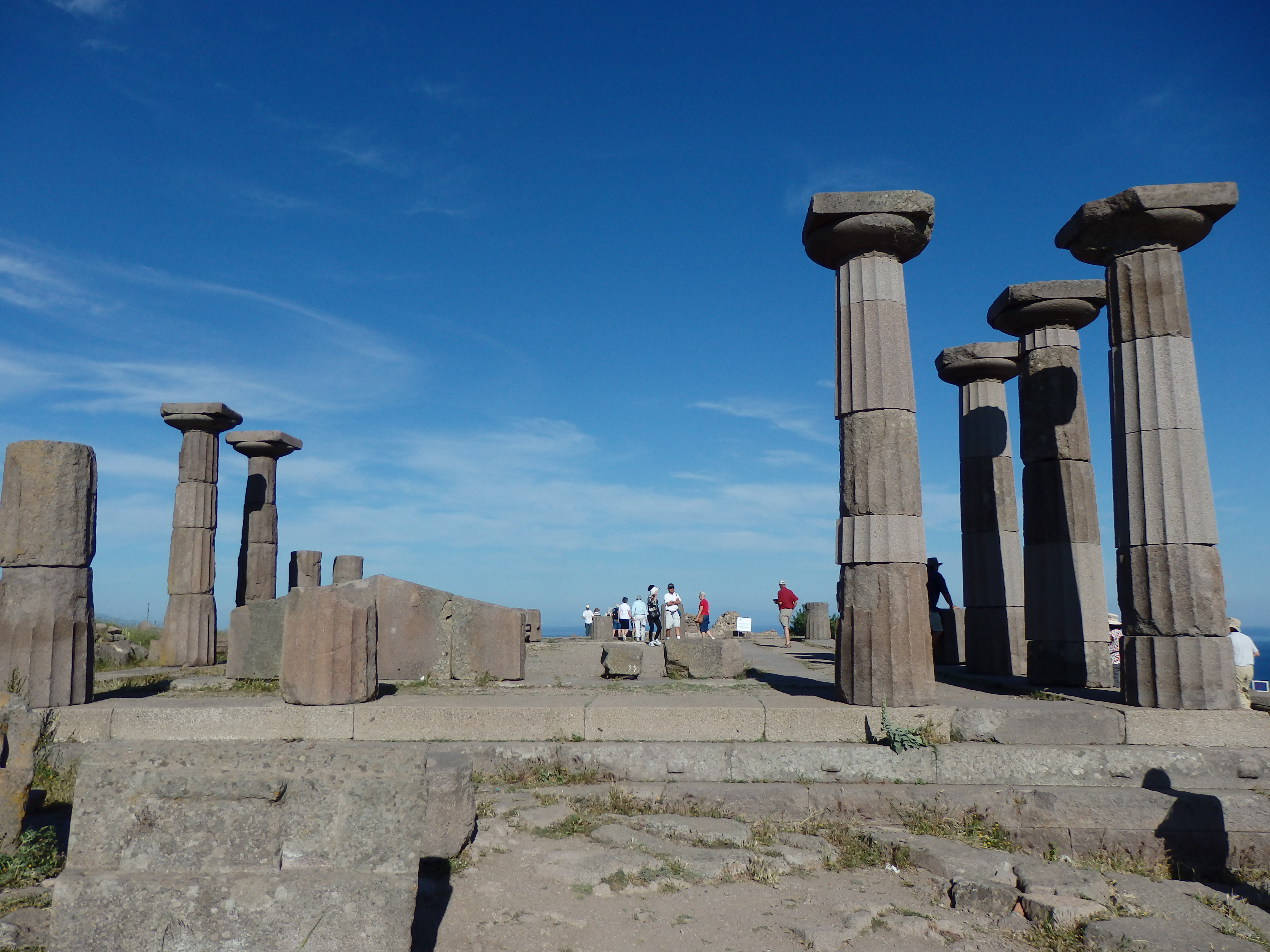 Ancient Temple To Athena