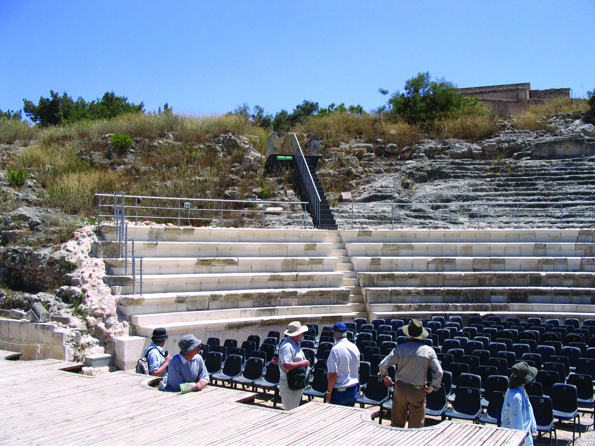 Ancient Theater In Ephesus