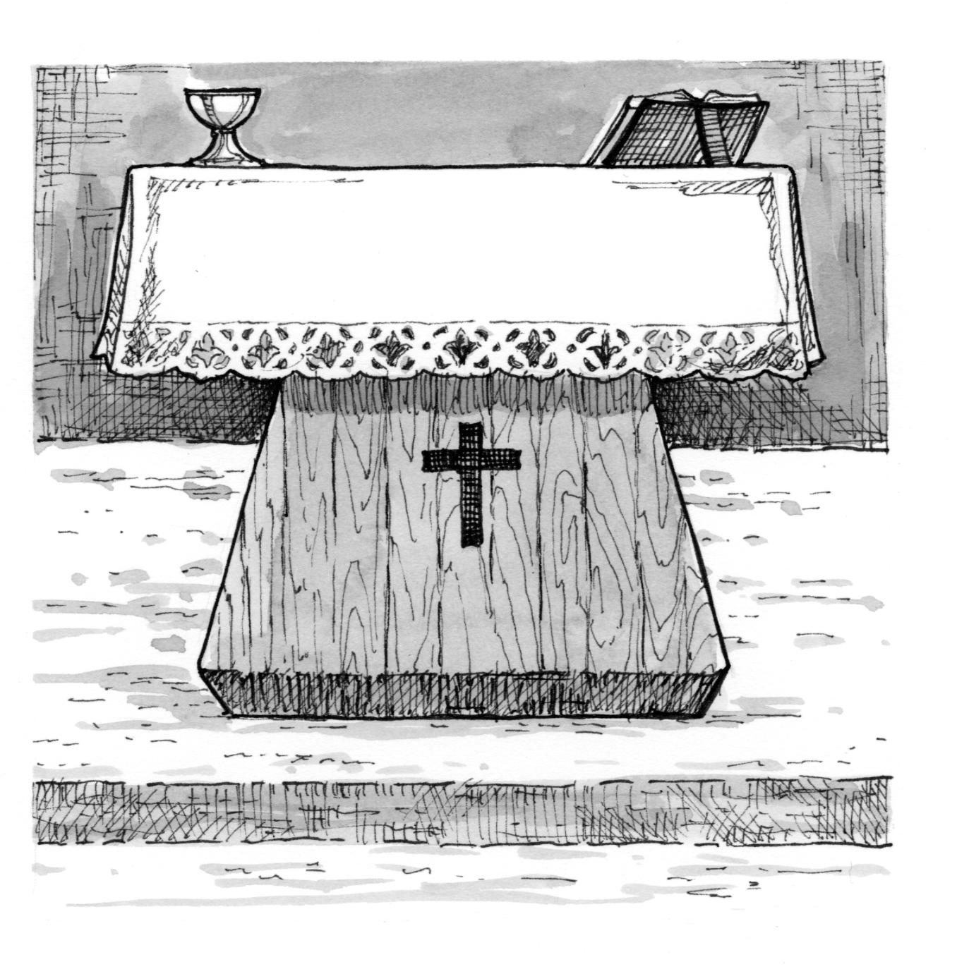 Signs And Symbols Altar