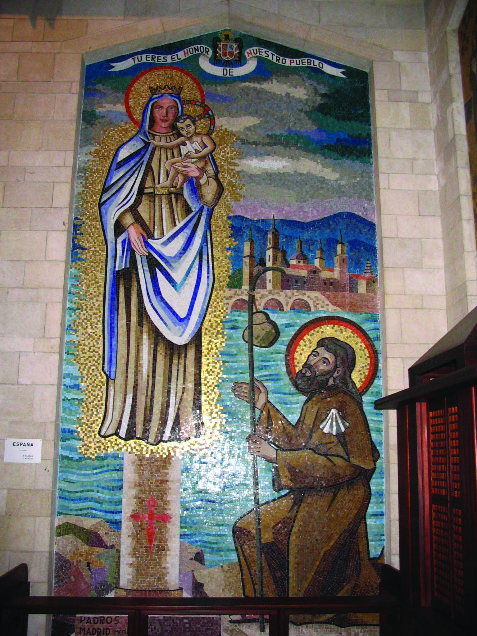 Basilica Of The Annunciation In Nazareth Israel