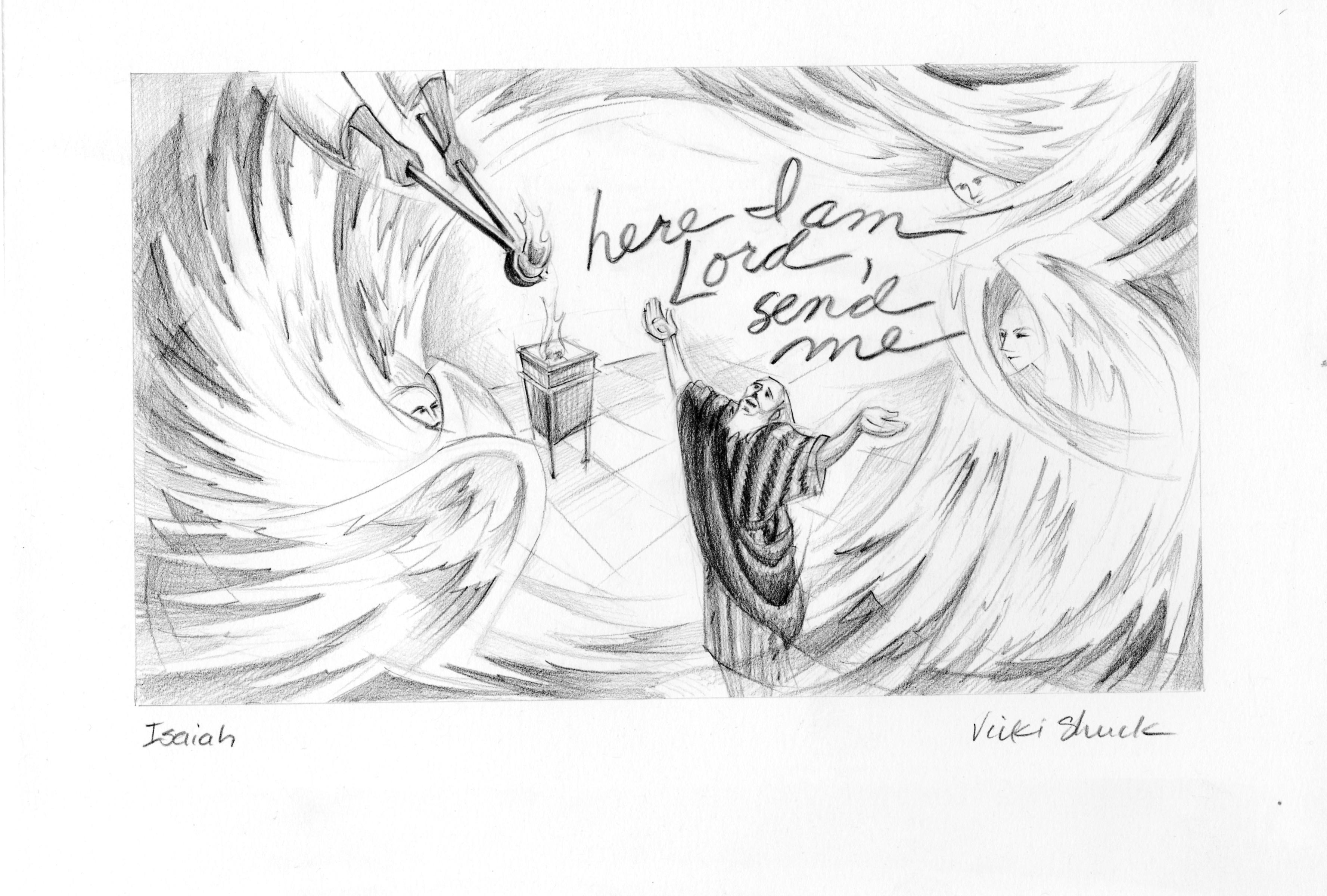 Isaiah 6 Illustration