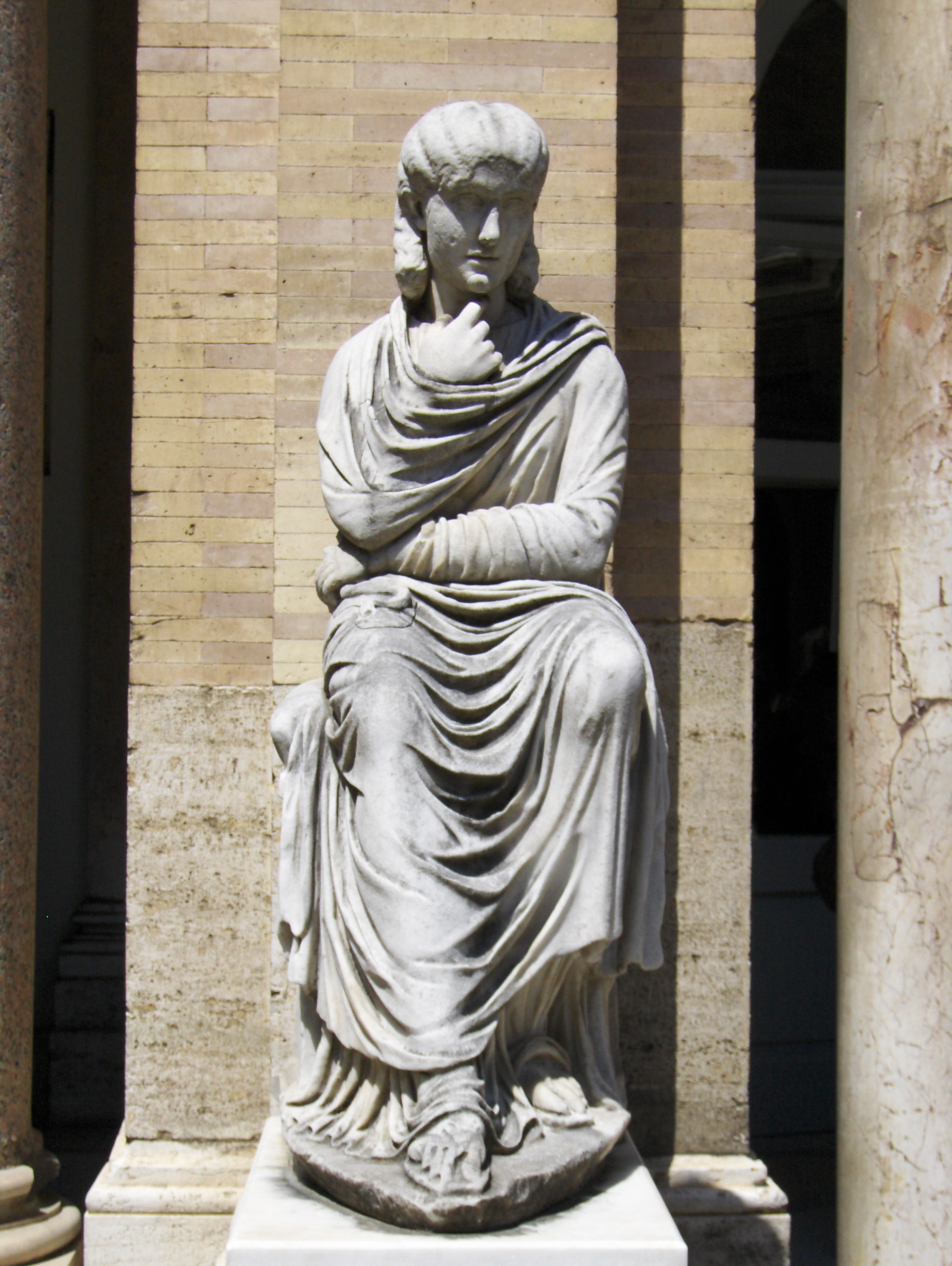 Statue Of The Good Shepherd