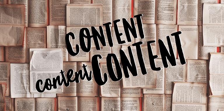 Masterclass: Content Content Content