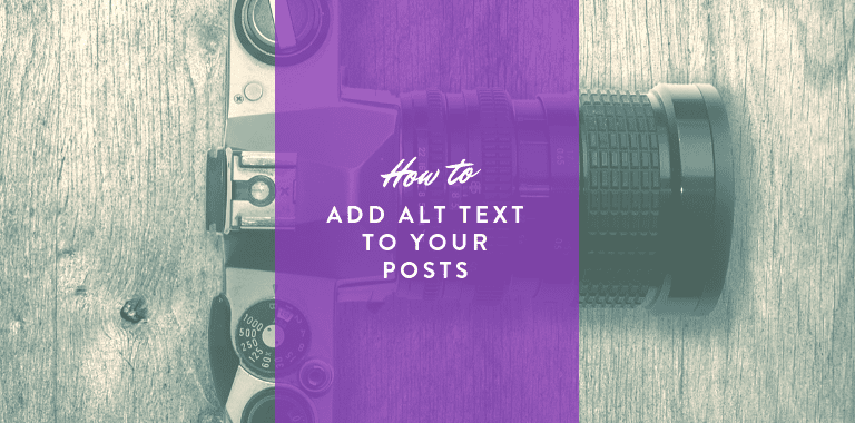how to alt text