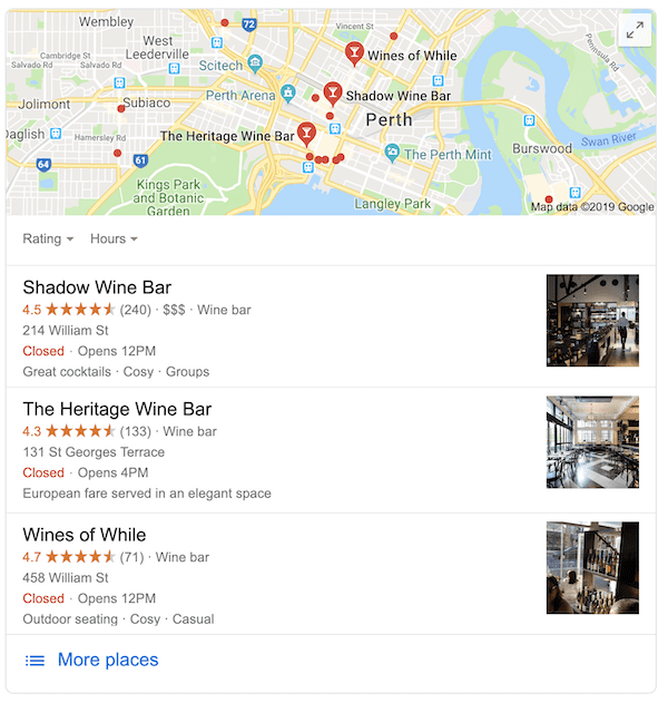 Local Pack on Google Search Results - Local SEO