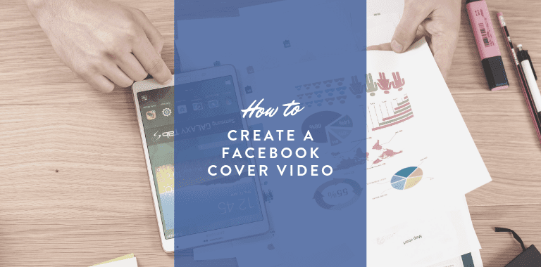 How to create a facebook cover video