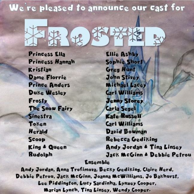 frosted-cast