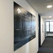 Dekoration der Büroräume