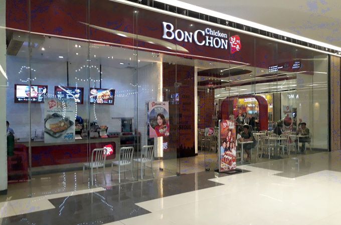 BonChon Chicken, SM Seaside City Cebu, Philippines!