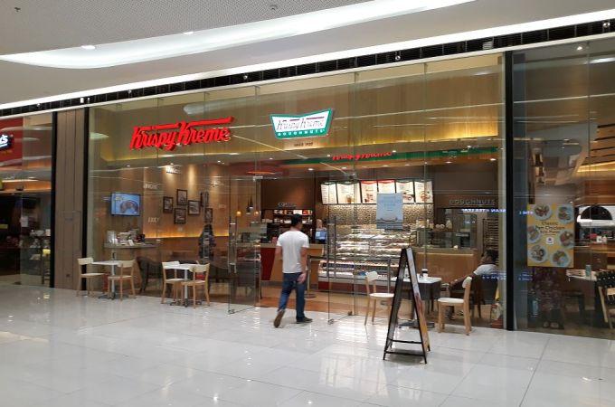 Krispy Kreme, SM Seaside City, Cebu, Philippines!
