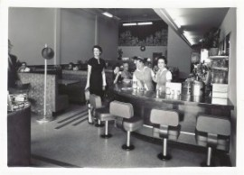 Check out this vintage shot of the diner!