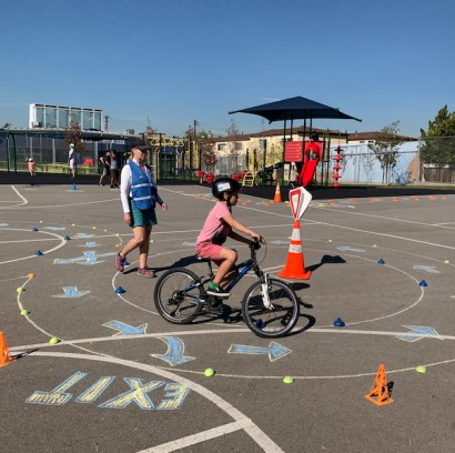 Bike & Small Wheels Skills Course Edison Fall Festival