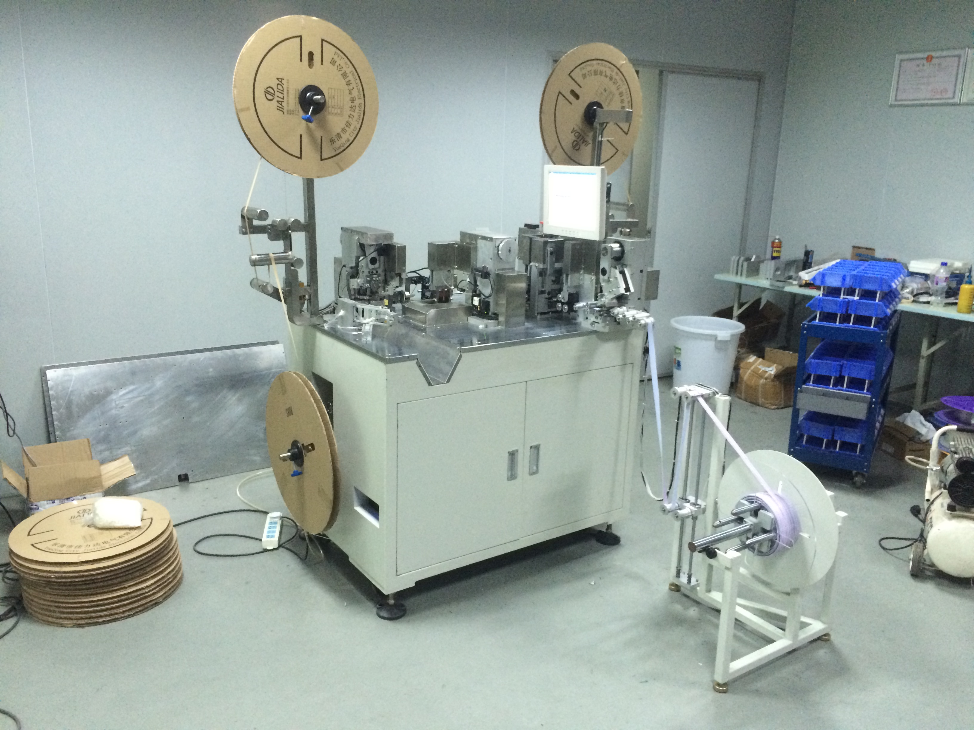 Winding Displacement Terminating Machine  Double