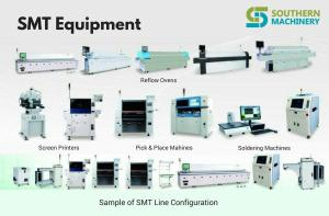 Sample of SMT Line Configuration