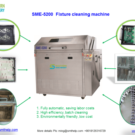 SME-5200 Fixture Cleaning Machine