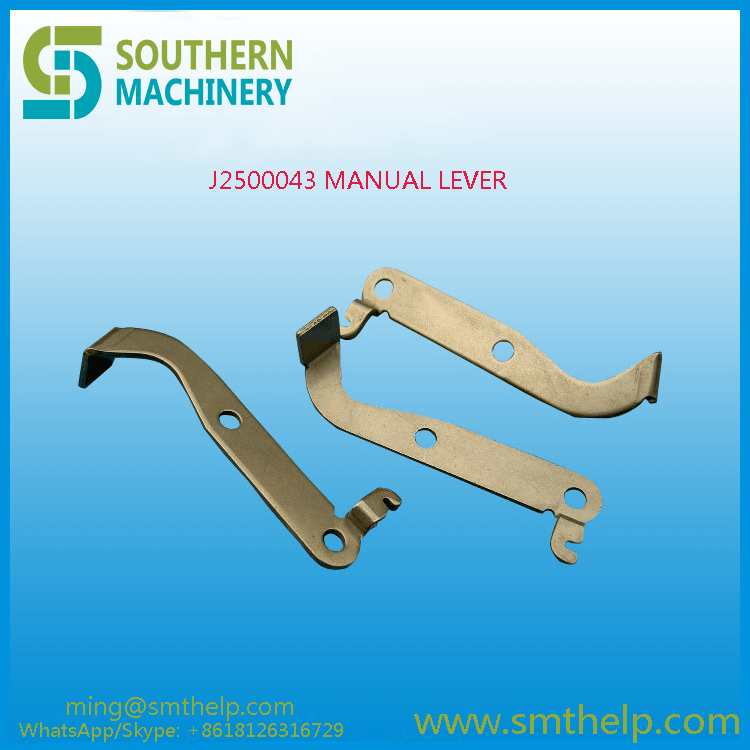 J2500043 MANUAL LEVER Samsung smt spare parts