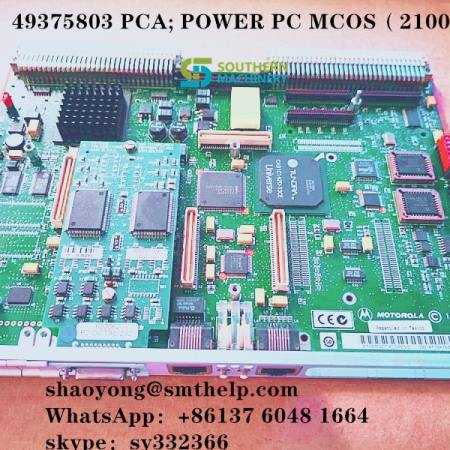 49375803 49375805 PCA; POWER PC MCOS .