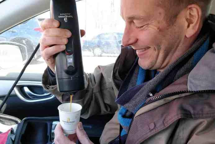 café handpresso Carpresso auto car