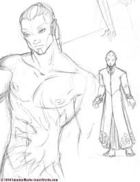 Warrior Sketch (not final)