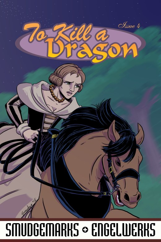 To Kill A Dragon, Part 4, Cover