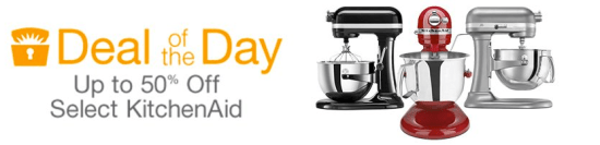 Click Here - Save up to 50% on Select KitchenAid Items