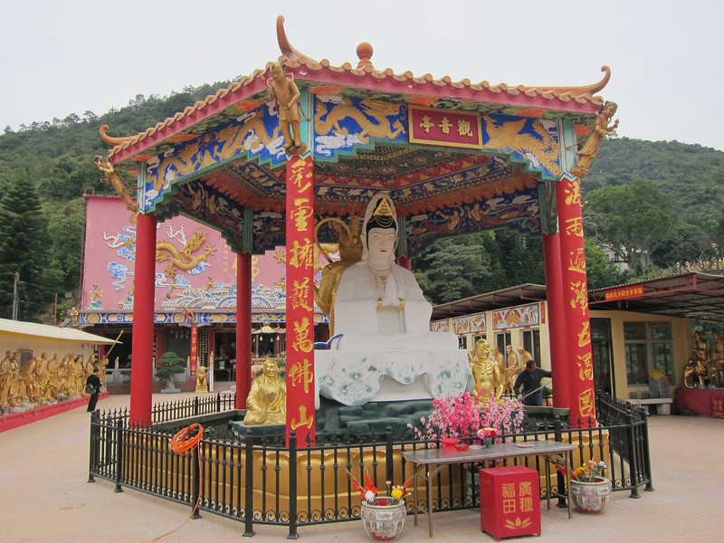Man Fat Sze or Ten Thousand Buddhas Monastery 萬佛寺