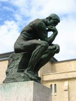 the thinker, by henkster