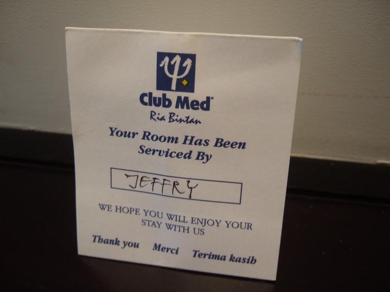 Room in Club Med Bintan
