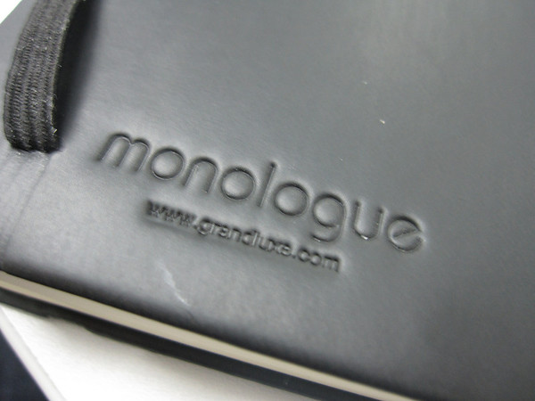 Monologue Notebook Close Up