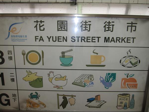 Fa Yuen Street Market 旺角花園街市