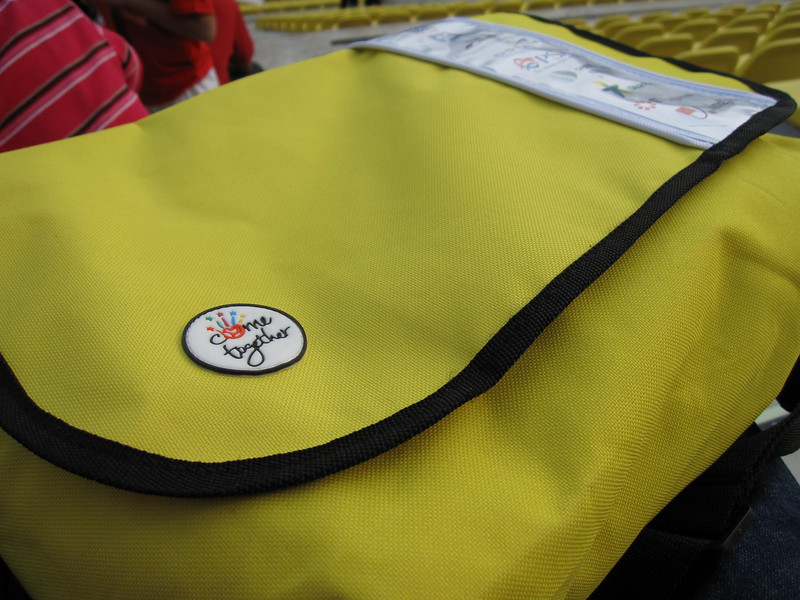 My Yellow 2009 National Day Parade Goodie Bags